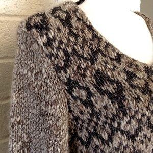 LOFT Sweaters - LOFT Wool Alpaca Blend Metallic Knit Sweater